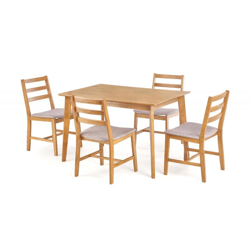 chanel-zestaw-stol-4-krzesla-drewno-lite-tkanina-mokate